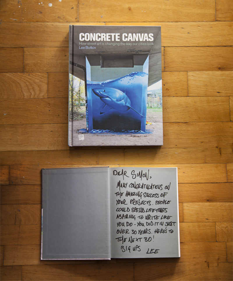 urban calligraphy featured at street art book by global street art concrete canvas